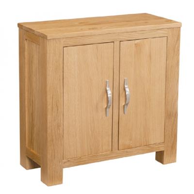 Vale Oak 2 Door Cabinet