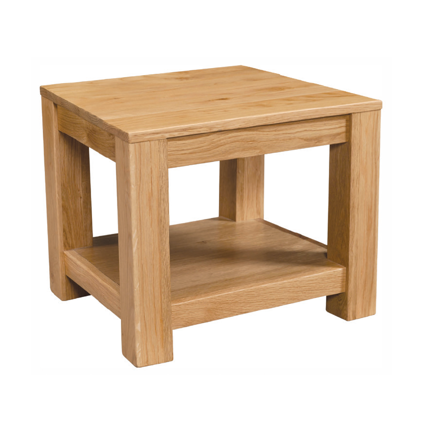 Vale Oak Lamp Table