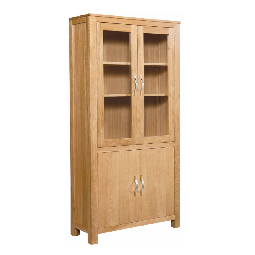 Vale Oak Display Cabinet