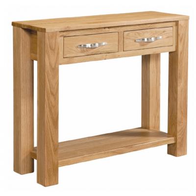 Vale Oak Large Console Table