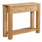 Vale Oak Large Console Table