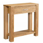 Vale Oak Small Console Table