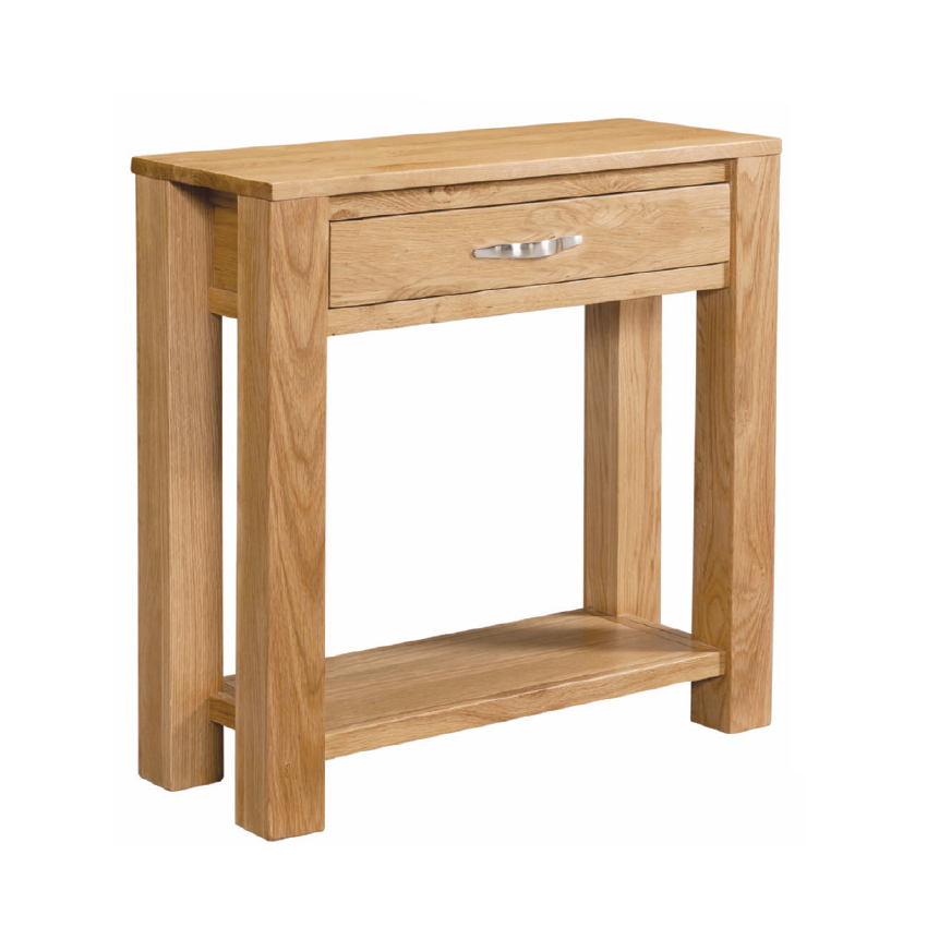 Vale Oak Small Console Table