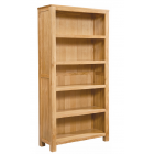 Vale Oak Large Bookcase