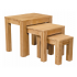 Vale Oak Nest of Tables