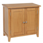 Devon Oak 2 Door cabinet