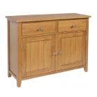 Devon Oak 2 Drawer Sideboard
