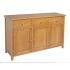 Devon Oak 3 Drawer Sideboard