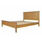 "Devon Oak Hampton 4'6"" Bed"