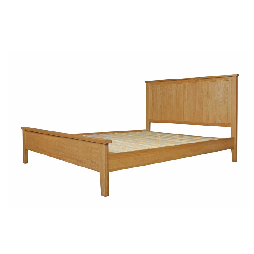 "Devon Oak Hampton 5"" Bed"