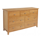 Devon Oak 3 Over 4 Chest